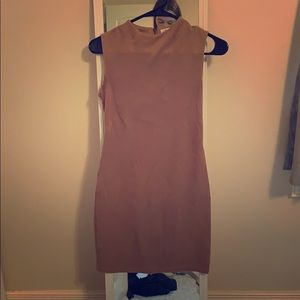 Chloe and Katie Faux Suede Dress